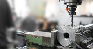 Cnc metal milling lathe machine in metal industry